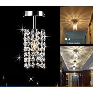 【送料無料】シーリングライト 照明器具 玄関照明 天井照明 オシャレ クリスタル 1灯 HL006