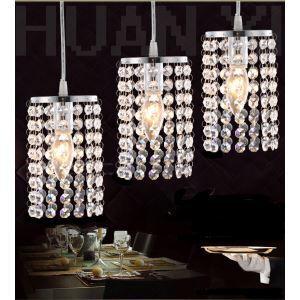 ペンダントライト 照明器具 玄関照明 天井照明 オシャレ クリスタル 1灯 HL007