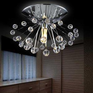 【送料無料】シーリングライト 照明器具 玄関照明 天井照明 オシャレ クリスタル 埋込み式照明 1灯 HL015