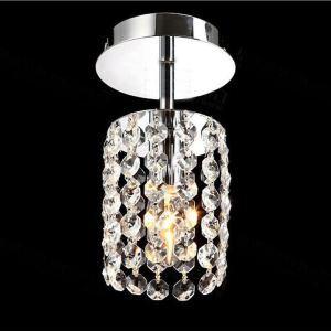 【送料無料】シーリングライト 照明器具 玄関照明 天井照明 オシャレ クリスタル 1灯 HL016