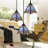 ペンダントライト ティファニーライト ステンドグラスランプ 照明器具 吹き抜け照明 玄関照明 3灯