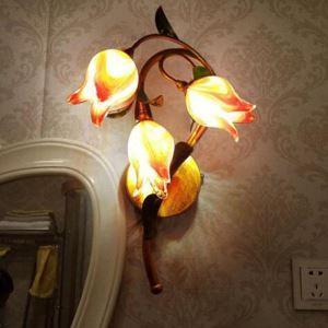 LED壁掛け照明 ブラケット 間接照明 ウォールランプ 玄関照明 瑠璃 北欧風 チューリップ 3灯 LED対応 RI021