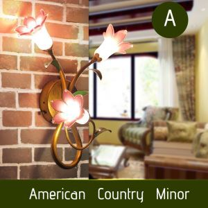 LED壁掛け照明 ブラケット 間接照明 ウォールランプ 玄関照明 瑠璃 北欧風 ユリ 3灯 LED対応 RI038