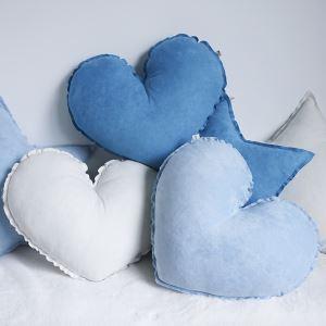 ぬいぐるみ 抱き枕 クッション 腰枕 飾り物 手作り セーム革 ハート プレゼント DP28003