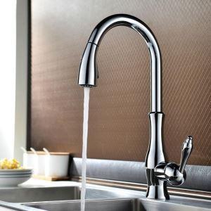 キッチン蛇口 台所水栓 引出し式水栓 冷熱混合水栓 シャワー吐水式