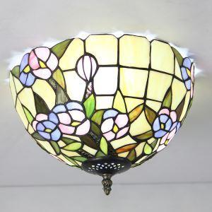 シーリングライト ステンドグラスランプ ティファニーライト 天井照明 3灯 BEH403039