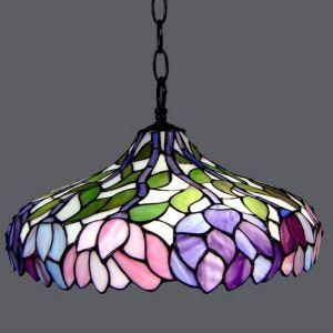 ペンダントライト ステンドグラスランプ 天井照明 リビング照明 欧米風 3灯 BEH3274