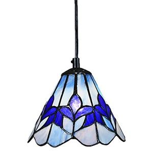 ペンダントライト ステンドグラスランプ ティファニーライト 天井照明 玄関照明 欧米風 1灯