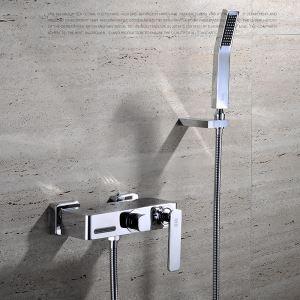 浴室シャワー水栓 ハンドシャワー バス水栓 混合栓 蛇口付き 水道金具 風呂用 FTTB024