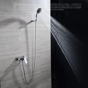 浴室シャワー水栓 バス蛇口 ハンドシャワー 混合栓 水栓金具 風呂用 クロム FTTB027