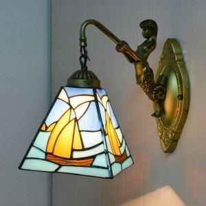 壁掛け照明 ステンドグラスランプ 照明器具 ウォールライト 1灯 BEH275517