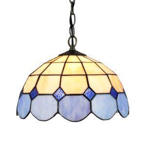ペンダントライト ステンドグラスランプ ティファニーライト 照明器具 ダイニング照明 D30cm LTPL154