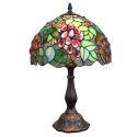 テーブルランプ ステンドグラスランプ 卓上照明 ブドウ D30cm LTTL110