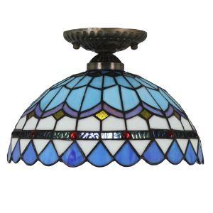 シーリングライト ステンドグラス照明 玄関照明 D30cm LTFM020