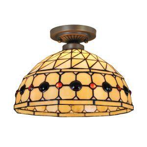 シーリングライト ステンドグラス照明 玄関照明 D30cm LTFM028