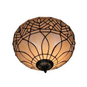 シーリングライト ステンドグラス照明 玄関照明 D30cm LTFM030