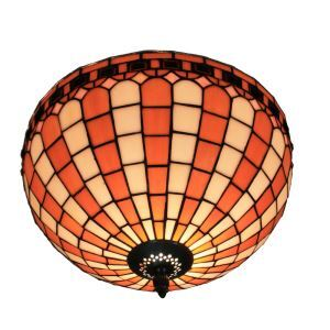 シーリングライト ステンドグラス照明 玄関照明 D30cm LTFM036