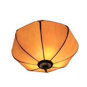 シーリングライト ステンドグラス照明 玄関照明 傘型 D30cm LTFM038