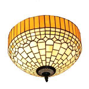シーリングライト ステンドグラス照明 玄関照明 D30cm LTFM052