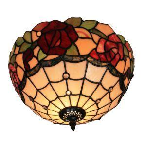 シーリングライト ステンドグラス照明 玄関照明 D30cm LTFM054
