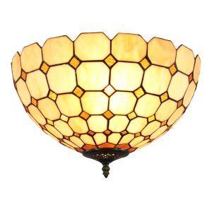 シーリングライト ステンドグラス照明 玄関照明 D30cm LTFM058
