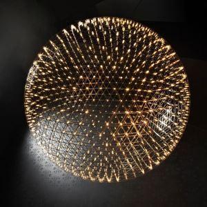LEDペンダントライト 天井照明 球型照明器具 キラキラ照明 星空/花火照明 D30/40/45/50cm LED対応