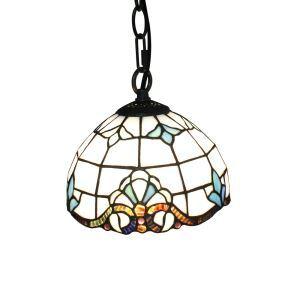 ペンダントライト ステンドグラスランプ ティファニーライト 照明器具 玄関照明 D20cm LTPL193
