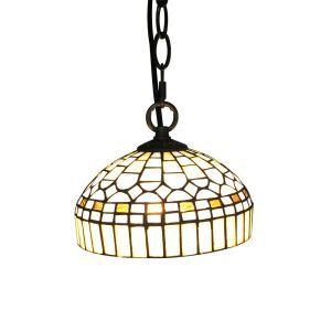 ペンダントライト ステンドグラスランプ ティファニーライト 照明器具 玄関照明 A/B D20cm LTPL201
