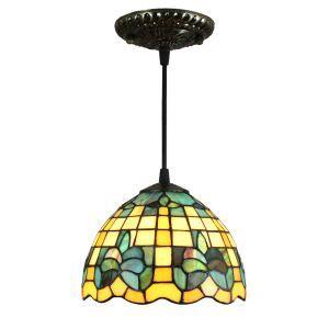 ペンダントライト ステンドグラスランプ ティファニーライト 照明器具 玄関照明 D20cm LTPL225