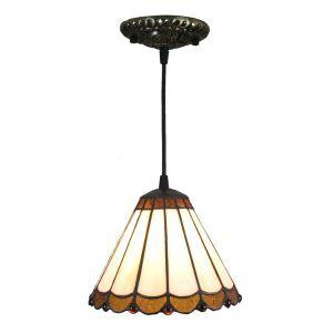 ペンダントライト ステンドグラスランプ ティファニーライト 照明器具 玄関照明 D20cm LTPL241