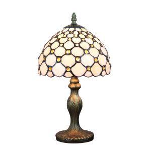 テーブルランプ ティファニーライト ステンドグラスランプ 卓上照明 スタンドライト 1灯 D20cm LTTL321 A/B