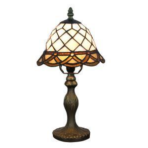 テーブルランプ ティファニーライト ステンドグラスランプ 卓上照明 スタンドライト 1灯 D20cm LTTL346