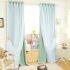 遮光カーテン カーテンレースセット シアーカーテン付 寝室 無地柄 現代風 5色(1枚)
