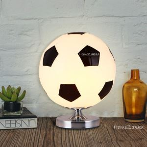 テーブルランプ スタンドライト 卓上照明 読書灯 間接照明 子供屋用 サッカー型 1灯