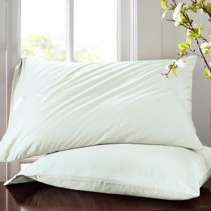 枕カバー ピロケース 封筒式カバー 寝具 コットンサテン 48*74cm 2点入り B2007