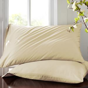 枕カバー ピロケース 封筒式カバー 寝具 コットンサテン 48*74cm 2点入り B2008