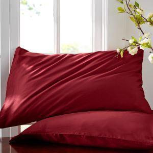 枕カバー ピロケース 封筒式カバー 寝具 コットンサテン 48*74cm 2点入り B2017