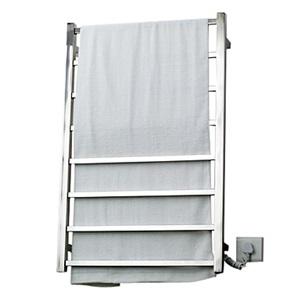 壁掛けタオルウォーマー タオルヒーター タオルハンガー+簡易乾燥 ステンレス鋼 80W