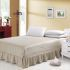 ベッドスカート シーツ 寝具カバー シンプル 綿 150*200cm B6004