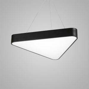 LEDペンダントライト 照明器具 リビング照明 店舗照明 オシャレ照明 三角型 黒色 LED対応