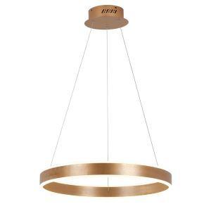 LEDペンダントライト 照明器具 店舗照明 リビング照明 北欧風照明 茶色 1環 60cm