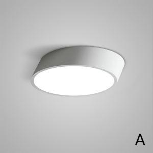 LEDシーリングライト 照明器具 天井照明 リビング用 寝室用 おしゃれ 黒白色 LED対応 H8cm