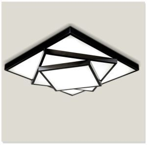 LEDシーリングライト 照明器具 天井照明 リビング 寝室 店舗 オシャレ 三段階 方形 LED対応