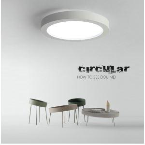 LEDシーリングライト 照明器具 天井照明 リビング 寝室 店舗 オシャレ 円形 黒白 LED対応