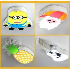 LEDシーリングライト 照明器具 リビング照明 子供屋照明 おしゃれ照明  漫画人物 LED対応
