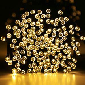 LEDイルミネーションライト LEDストリングライト ソーラーライト 照明器具 防水 パーティー 祝日飾り