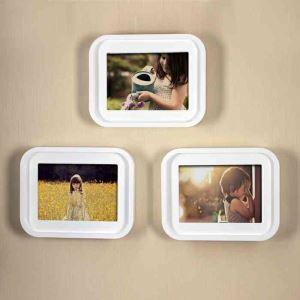 写真立て フォトフレーム 写真用額縁 インテリアフレーム フォトデコレーション 壁掛け 木製 1枚