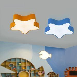 LEDシーリングライト 照明器具 天井照明 リビング 居間 子供屋 オシャレ ヒトデ型 3色 LED対応