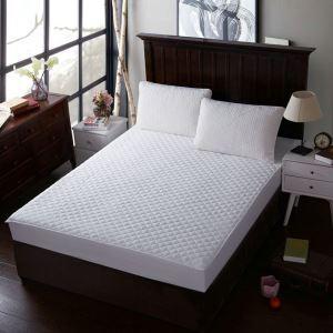 ボックスシーツ ベッドシーツ マットレスカバー ベッド用品 単品 四季 ホワイト 180*200cm B4001