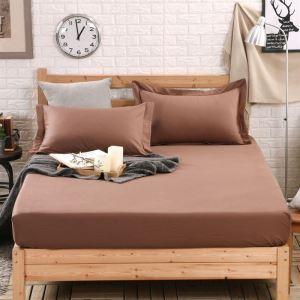ボックスシーツ ベッドシーツ マットレスカバー ベッド用品 単品 純綿 150*200cm B4025